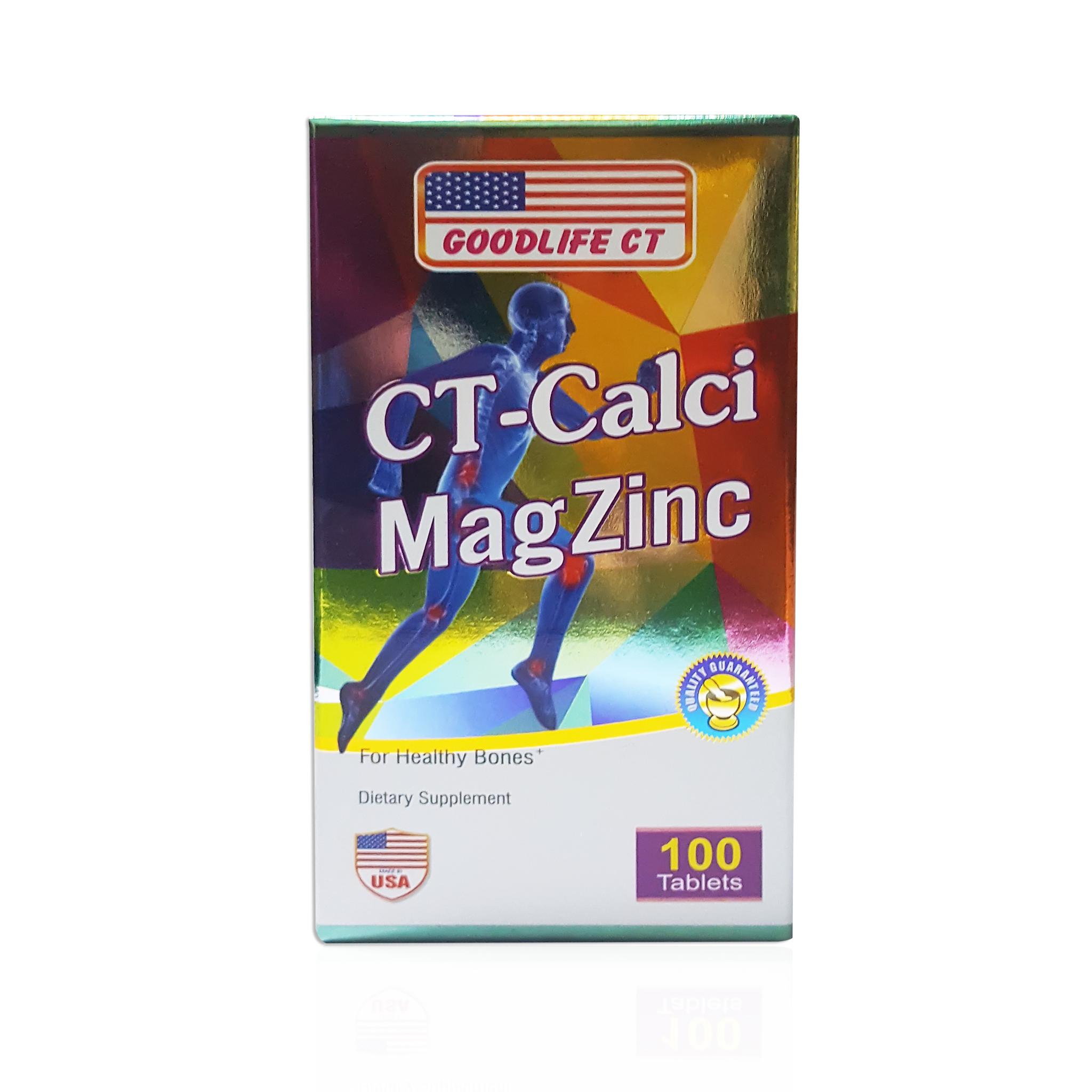 CT CALCI MAGZINC bổ sung khoáng chất, xương, răng phát triển khoẻ mạnh, cứng chắc