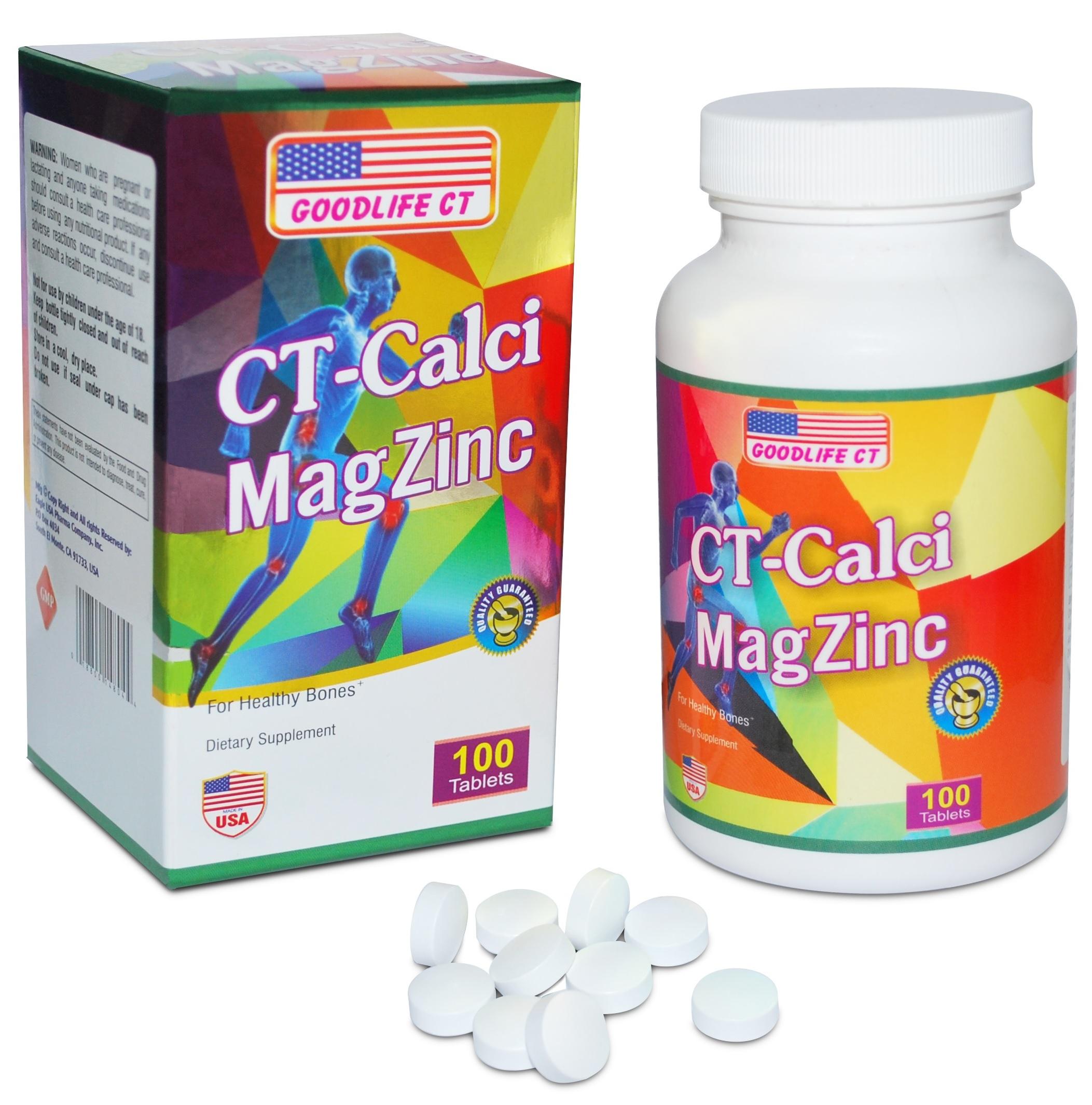 CT CALCI MAGZINC giúp bổ sung khoáng chất giúp xương, răng phát triển khoẻ mạnh